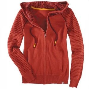Title Nine Dekker Full Zip Hooded Sweater Sedona